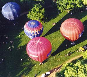 Ballonosok a ballonokban és környékükön