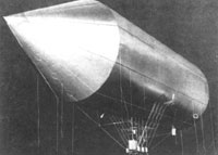 Schwarcz léghajójának makettje
