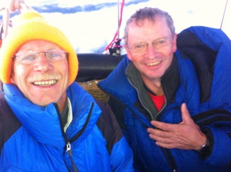 Az élen álló Wilhelm Eimers és Matthias Zenge ma reggel már Spanyolország fellett