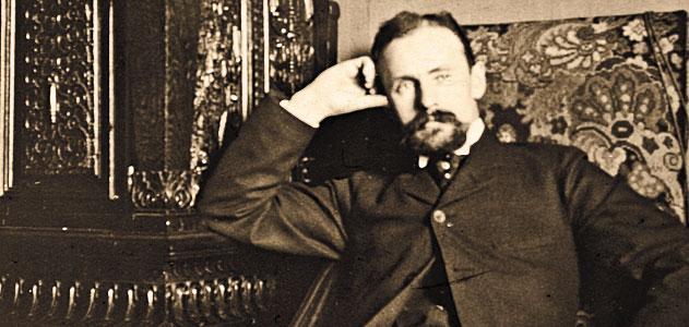 Edgar Mix, az 1909-es győztes