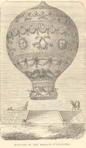 Montgolfier ballon