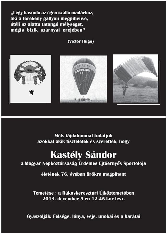 Kastély Sándor