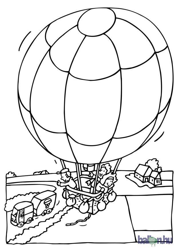 Ballonos kifestőképek